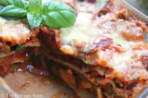 Clean Eating Vegetable Lasagne