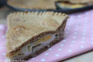 Clean Eating Egg and Bacon Pie