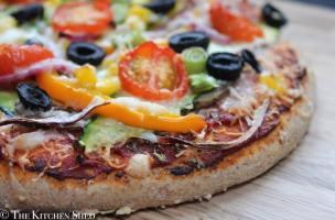 Clean Eating Vegetarian Pizza