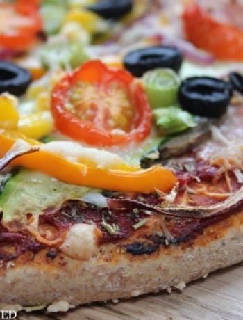 Clean Eating Vegetarian Pizza 2