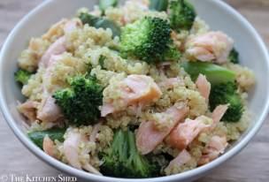 Clean Eating Summertime Salmon Quinoa