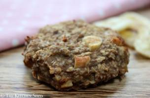 Clean Eating Banana Nut Breakfast Cookies