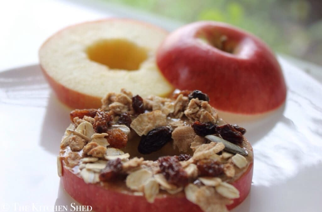 Clean Eating Apple Ring Snacks