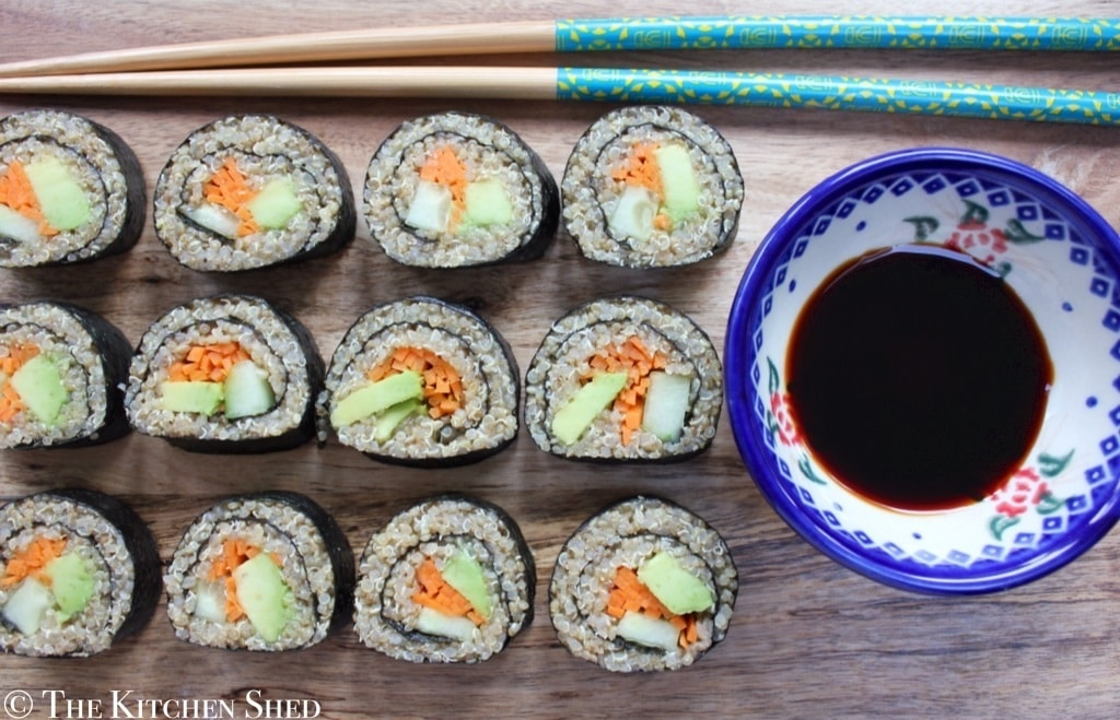 Clean Eating Quinoa Sushi
