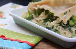 Clean Eating Gluten Free Chicken & Broccoli Lasagne