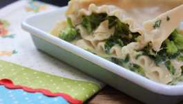 Clean Eating Gluten Free Chicken & Broccoli Lasagne