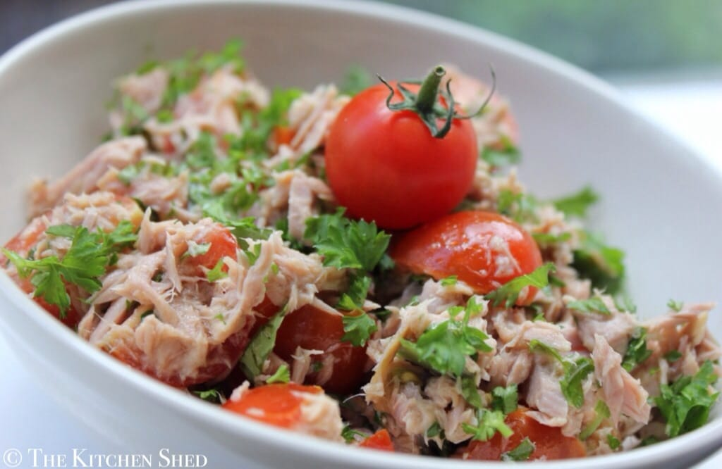 Clean Eating Tomato & Herb Tuna Salad