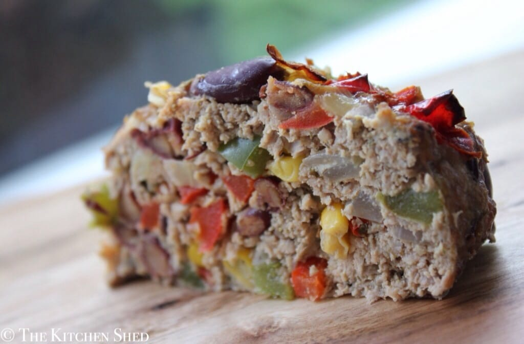 Clean Eating Mexican Meatloaf