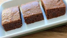 Clean Eating Gluten Free Brownies