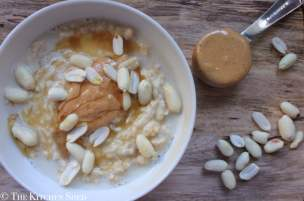 Clean Eating Peanut Butter Porridge