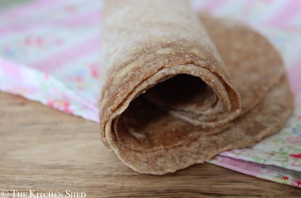 Clean Eating Spelt Tortilla Wraps