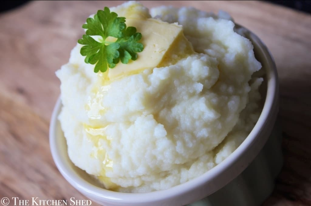 Clean Eating Cauliflower Mash