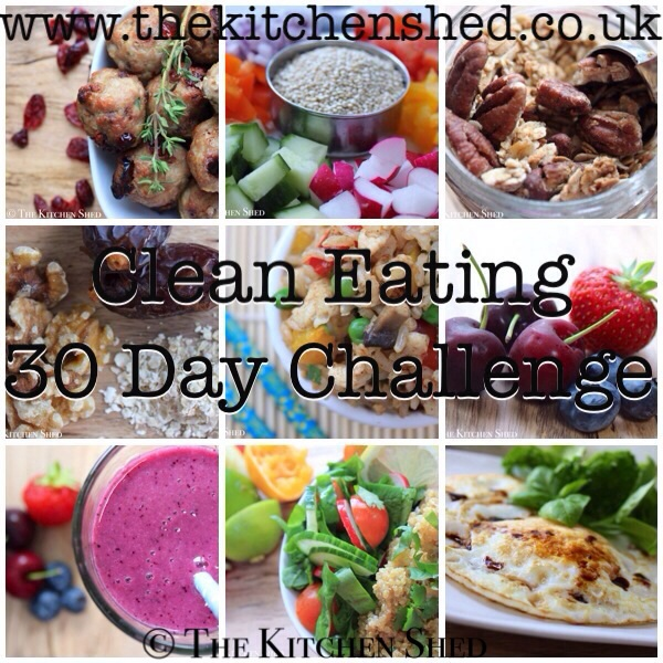 The Kitchen Shed - Clean Eating 30 Day Challenge