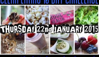 Clean eating 30 day challenge the kitchen shed clean eating 10 day challenge forumfinder Images
