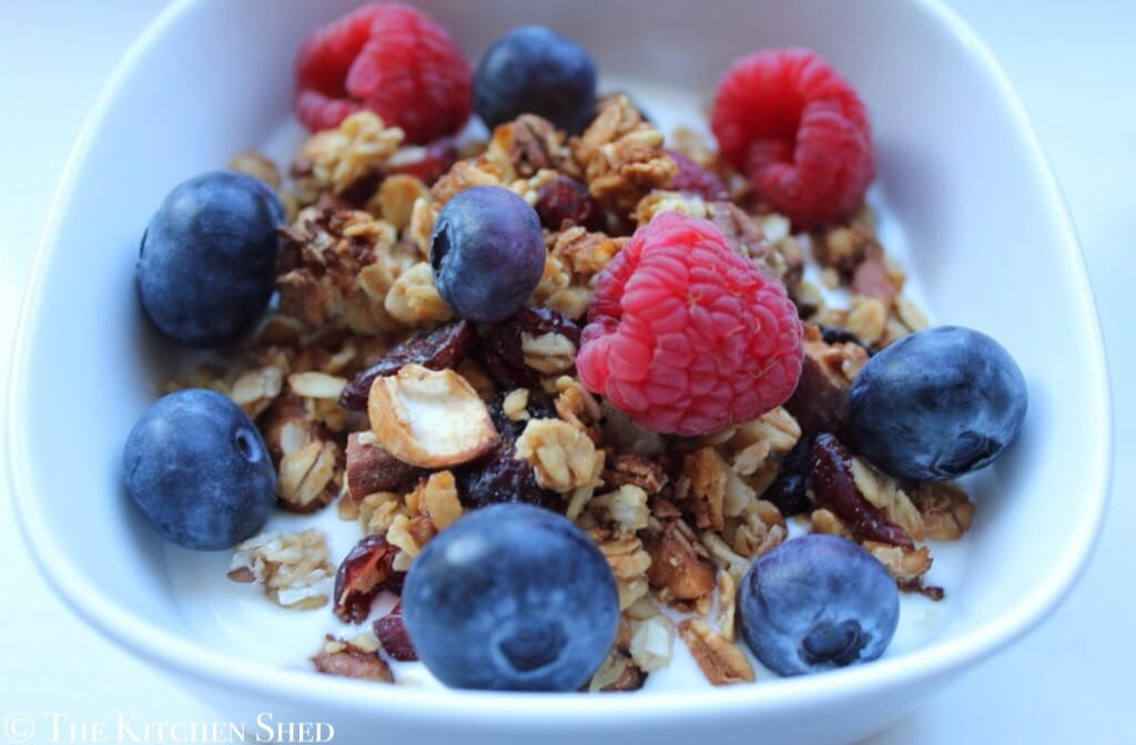 Clean Eating Basic Granola