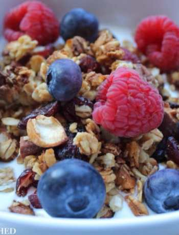 Clean Eating Basic Homemade Granola 1