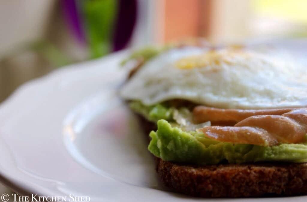 Clean Eating Breakfast Toast
