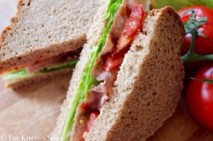 Clean Eating BLT Sandwich