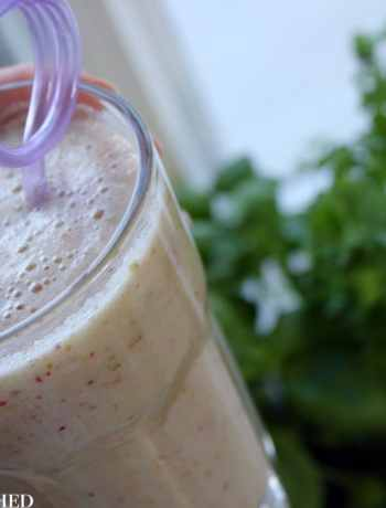 Clean Eating Apple, Pear & Ginger Smoothie 4