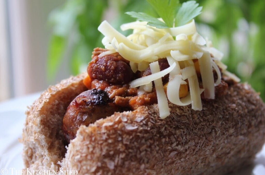 Clean Eating Chilli Dogs - The Kitchen Shed