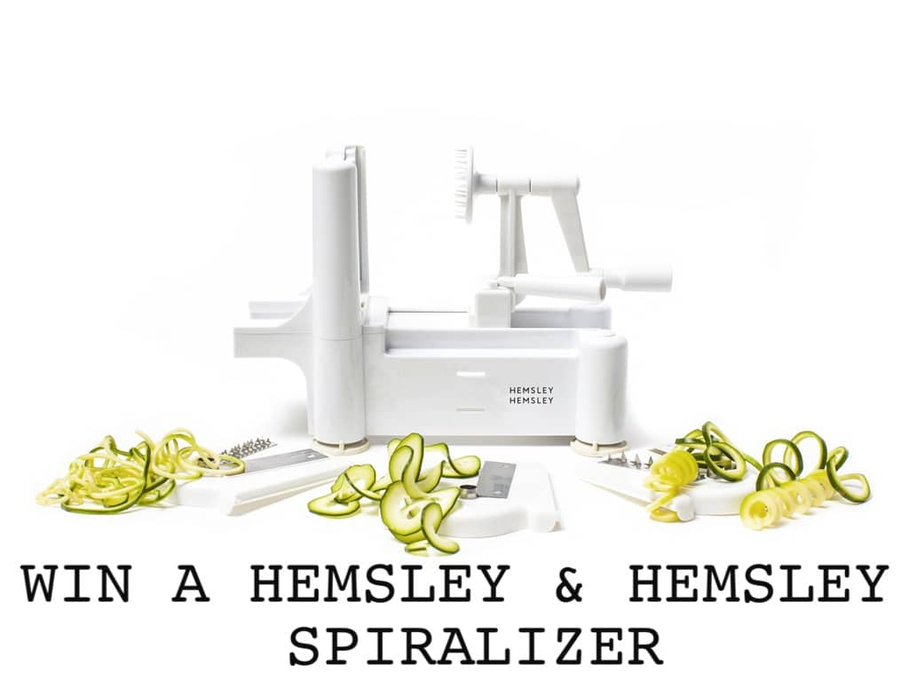 Spiralizer Giveaway