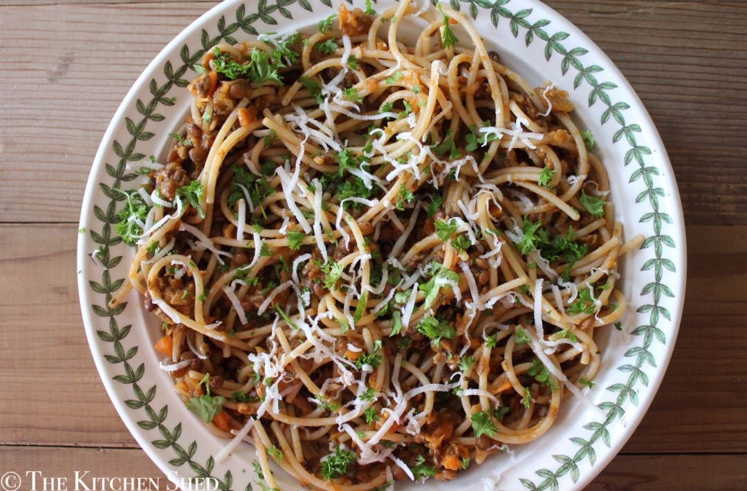 Clean Eating Lentil Bolognese