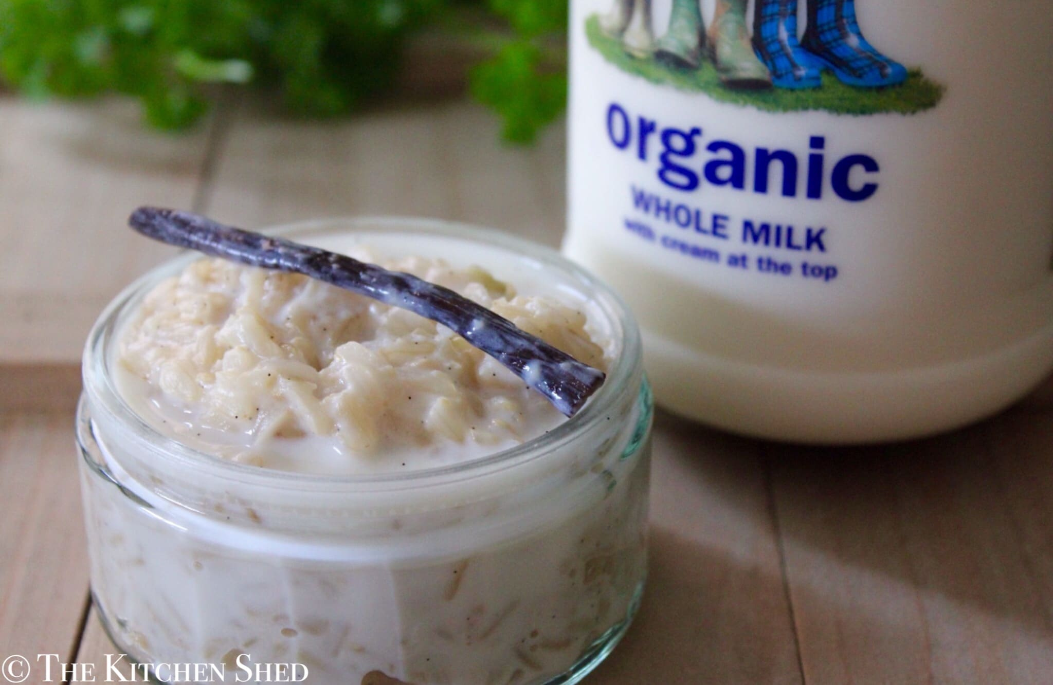 Clean Eating Brown Rice Pudding