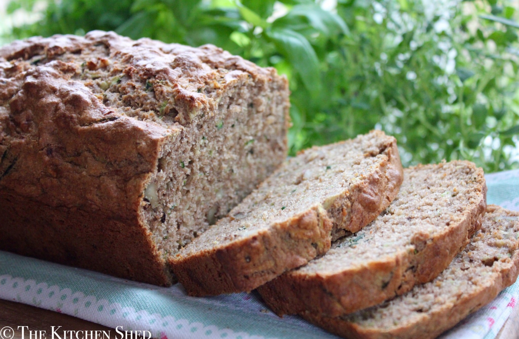 Clean Eating Banana Courgette Bread