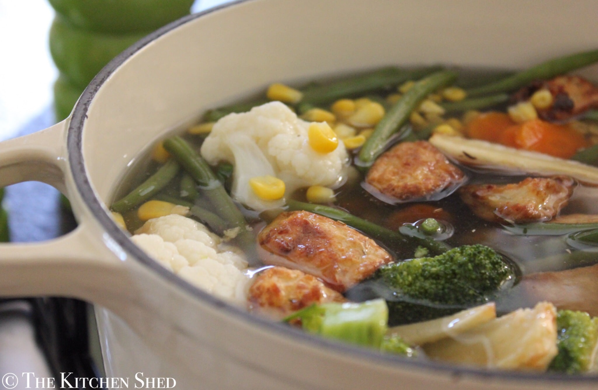 Clean Eating Boxing Day Soup (Leftovers Soup)