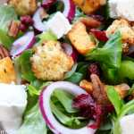 Clean Eating Charred Winter Vegetable Salad 1