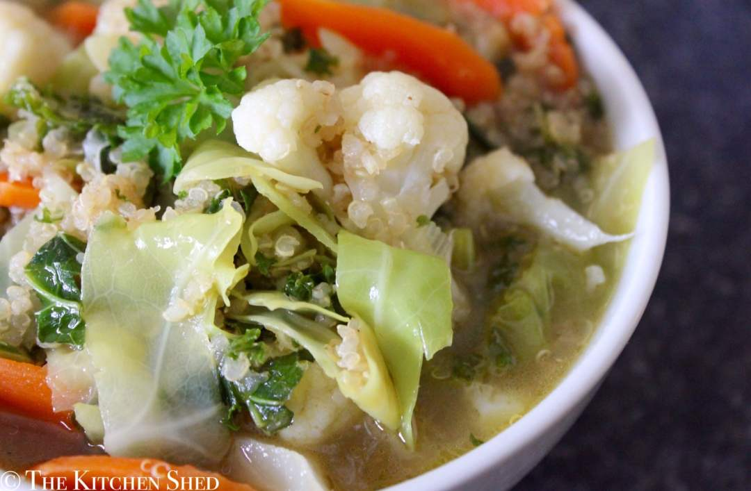 Clean Eating Quinoa Veggie Soup