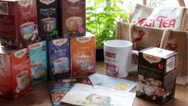 Yogi Tea Giveaway – The Kitchen Shed