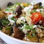 Clean Eating Summer Roasted Veggie Quinoa 1