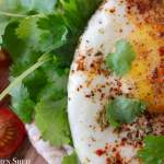 Clean Eating Mexican Fried Egg 1