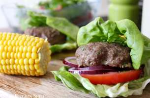 Clean Eating Organic Beef Burgers