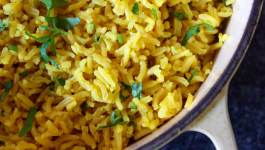 Clean Eating Turmeric Rice