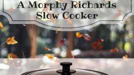 WIN a Morphy Richards Slow Cooker!