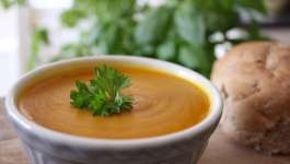 Clean Eating Onion Squash & White Bean Soup 2