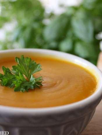 Clean Eating Onion Squash & White Bean Soup 2