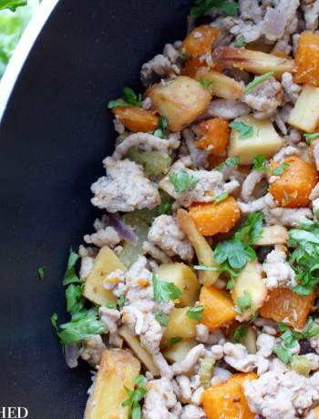 Clean Eating Winter Pork Hash