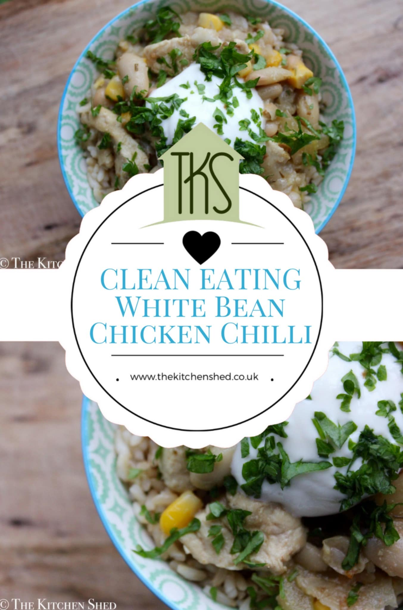 Clean Eating White Bean Chicken Chilli – The Kitchen Shed