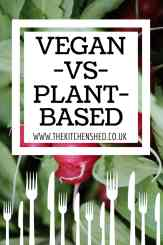 Vegan VS Plant-Based 1