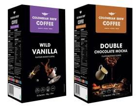 Colombian Brew coffee Vanilla Mocha