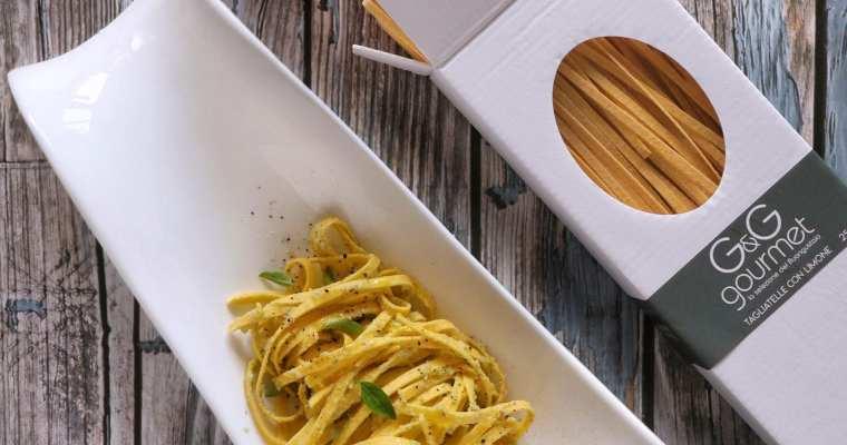 Tagliatelle al Limone in Cavolo Rapa, Basilico Viola e Zenzero