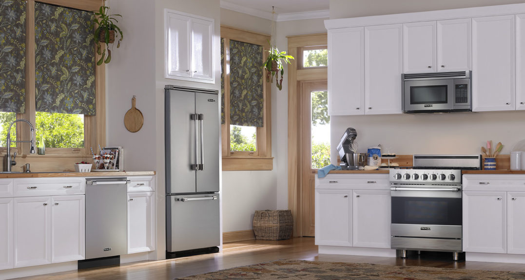 When It Comes To Furnishing An Existing Kitchen With New Appliances, Most  People Automatically Assume That The High End Brands Will Not Work For Them.