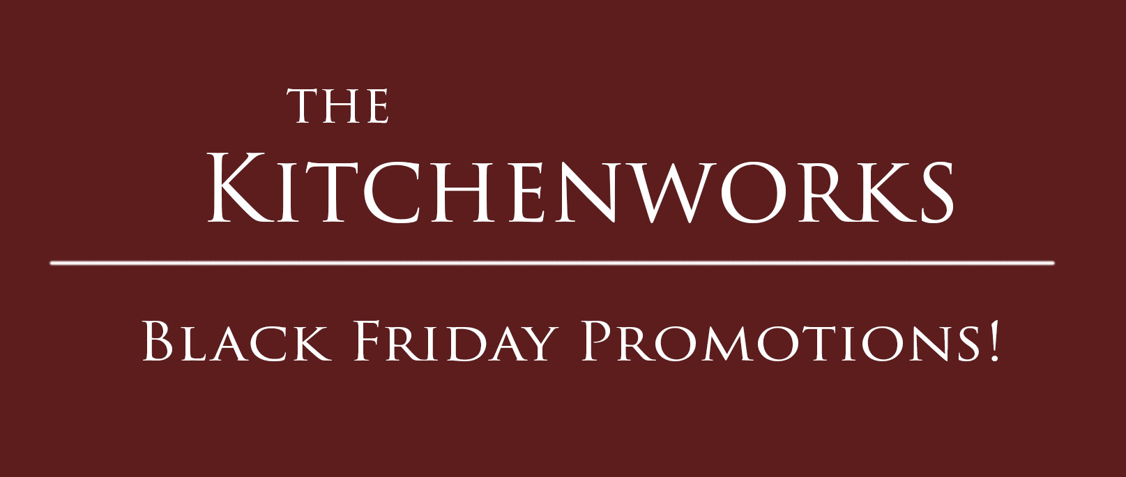 Black Friday Special Promotions November 2019 The Kitchenworks