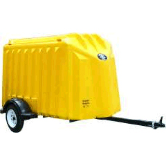 Yuppie Wagon Trailer (Enclosed Composite Shell) - Click Image to Close