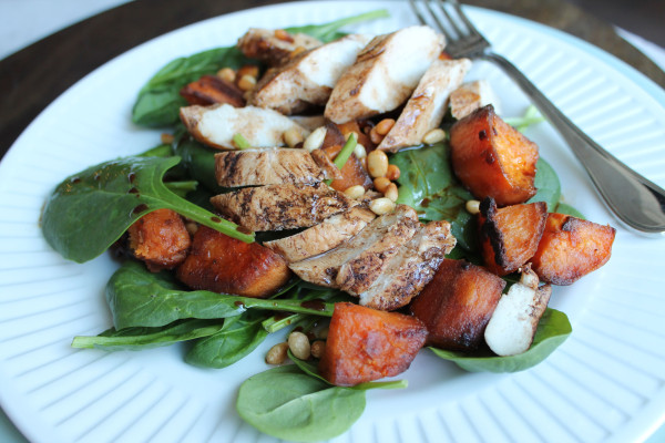 Balsamic Chicken and Sweet Potato Salad
