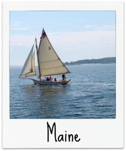 Maine Polaroid