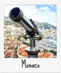 Monaco Travel Page